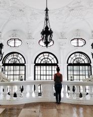 Una vista sulla Galerie d'arte