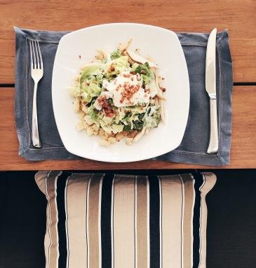 Caesar Salad al Flame